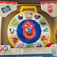 Fisher Price - SEE N SAY The Farmer Says Classic Toy w/ Animal Sounds NIB  #Lego
