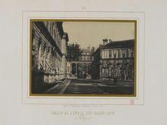 MARVILLE C. Palais de l'Ecole des Beaux-Arts, 6ème arrondissement, Paris. 1851-1855 Arrondissement, Painting, Old Paris, Painting Art, Paintings, Painted Canvas, Drawings