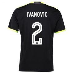 Chelsea 16-17 Branislav #Ivanovic 2 Bortatröja Kortärmad