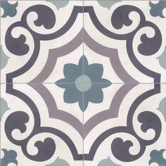 Mandala Stencils, Stencil Patterns, Tile Patterns, Wood Table Design, Painting Tile Floors, Victorian Tiles, Concrete Bathroom, Moroccan Interiors, Clay Tiles