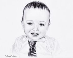 Custom Baby portrait Pencil Drawing from your photo Sketch Pencil Portrait Drawing, Portrait Sketches, Portrait Art, Pencil Drawings, Baby Portraits, Family Portraits, Photo Supplies, Pencil Drawing Tutorials, Photo Sketch