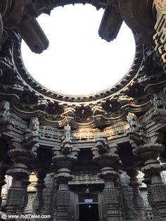 Kopeshwar Temple in Khidrapur, near Kolhapur in Maharashtra is a stunning example of ancient Indian temple architecture dedicated to Shiva Indian Temple Architecture, India Architecture, Brick Architecture, Historical Architecture, Ancient Architecture, Architecture Details, Temple India, Hindu Temple, Great Buildings And Structures