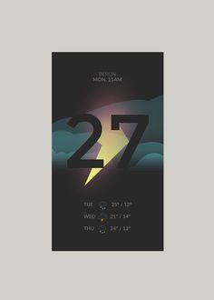 Weather App / Jona Dinges