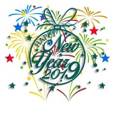15 Awesome Happy New Year 2019 Clipart Images