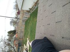 roofin!!! :( yard needs work??? whoz commin to help??