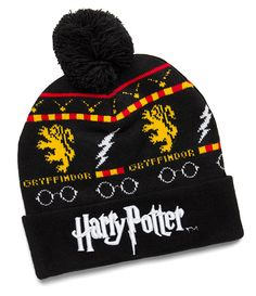 Harry Potter Fair Isle Pom Beanie ($4.99)