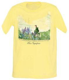 Miss Rumphius T-Shirt, Barbara Cooney $22