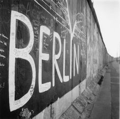 Berlin.  We visited the site of the Berlin Wall.
