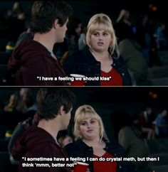 Hahaha gotta love Fat Amy Such a funny show. Haha Funny, Hilarious, Lol, Funny Movies, Great Movies, Movie Quotes, Funny Quotes, Fat Amy, Youre My Person