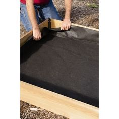 Put your raised beds anywhere with our strong raised bed liners. Designed for use with grow beds, but these liners work with any or raised bed. Raised Flower Beds, Raised Beds, Landscaping With Rocks, Backyard Landscaping, Backyard Retreat, Landscaping Design, Organic Gardening, Gardening Tips, Raised Garden Bed Plans