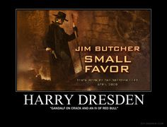 The Dresden Files. A hardboiled wizard with a wiseguy sense of humor and his maniacal entourage. You'd have to read them to understand.