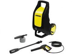 Lavadora de Alta Pressão Karcher K2 2500 Libras - Mangueira 3m Aplicador de Detergente com as melhores condições você encontra no Magazine Aletricolor2015. Confira!