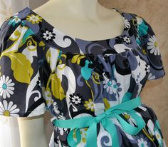 Labor and Delivery Gown/Designer by doodlebugzbymarilyn on Etsy, $69.00