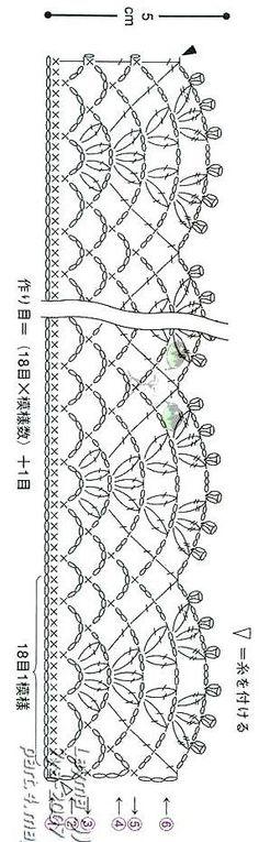 Luty Artes Crochet: Gráficos de barrados
