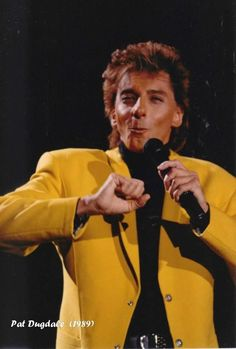 Barry Manilow On Broadway Tour 1989 My One And Only, Are You The One, Take That, I Love Him, My Love, Barry Manilow, Music Icon, My Idol, The Man