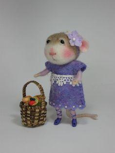 Little Miss Purple Mouse