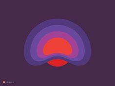 Mist Form designed by George Bokhua. Connect with them on Dribbble; Form Design, Print Design, Detail Design, Gravity Waves, Negative Space Logos, Flat Illustration, Bottle Design, Design Thinking, Mists