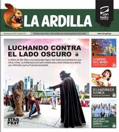 """Periódico """"La Ardilla"""". Diciembre 2015 - Edición N° 002"""
