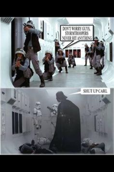 See more 'Shut the fuck up, Carl' images on Know Your Meme! Military Jokes, Army Humor, Army Memes, Stupid Funny, Funny Jokes, Hilarious, Funny Stuff, Star Wars Jokes, Twisted Humor