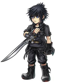 View an image titled 'Noctis Lucis Caelum Art' in our Dissidia Final Fantasy Opera Omnia art gallery featuring official character designs, concept art, and promo pictures. Final Fantasy Characters, Final Fantasy Vii Remake, Video Game Characters, Fantasy Series, Noctis Lucis Caelum, Final Fantasy Collection, Game Character Design, Video Game Art, Moonlight