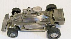 Working Vintage Butane Table Lighter Ferrari F1 Race Car