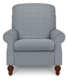 Spindale High Leg Recliner by La-Z-Boy Small Recliner Chairs, Small Recliners, Country Furniture, Sofa Furniture, Coastal Living Rooms, Home And Living, Living Room Chairs, Living Room Decor, Rocking Chair Pads