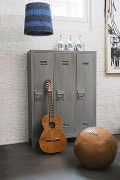 Stunning Kleiderschrank Spind aus Metall B cm Future Home Pinterest Dressing Loft and Lockers