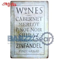 """Vintage Metal Signs """"Beverages Of The World, Home Sweet Home, Etc"""" Pub Wall Decor"""