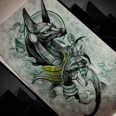 Beautiful work Anubis