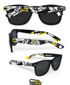 Batman Sunglasses Wayfarer style sunglasses Batman by ketchupize, €37.00