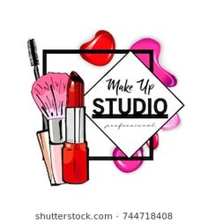 Find Makeup Studio Logo Design Template stock images in HD and millions of other royalty-free stock photos, illustrations and vectors in the Shutterstock collection. Studio Logo, Beauty Logo, Beauty Art, Beauty Makeup, Make Up Studio, Nail Salon Decor, Makeup Artist Logo, Pearl Images, Pop Art Wallpaper