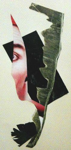 Self Portrait I by jlwscrap collage
