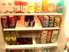 Keep your teachers refreshed by stocking the fridge with soft drinks!