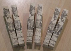 we are 12 sales away from reaching 3,000.  Use code ETSY12 for 15 percent off your purchase!  french market marie antoinette clothes pins by OkioBDesigns, $5.00
