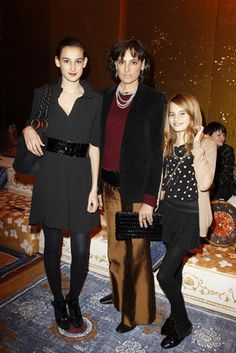 ines de la fressange daughter | ines-de-la-fressange-and-her-daughters-nine-and-violette