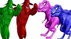 Spider Gorilla Finger Family | Spider Dinosaur Finger Family | Finger Family Songs | Nursery Rhymes http://youtu.be/ceE7qH6EqgQ