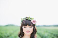 Flower crown bride -