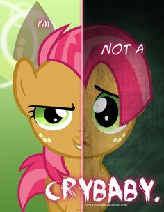 MLP - Two Sides of Babs Seed by *TehJadeh on deviantART