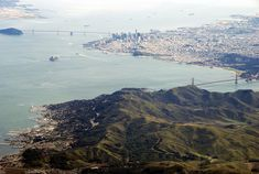 View from above, San Francisco