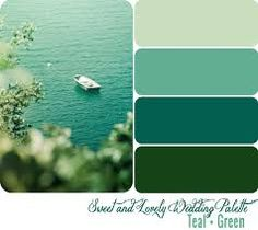 Image result for dark teal green and pastel wedding palette