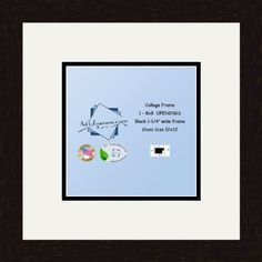 art to frames doublemultimat63575489frbw26061 collage frame photo mat double mat with 1 8x8 openings and espresso