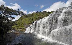 Horton Plains Bakers Falls - Sri Lanka