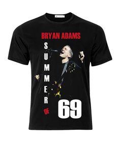 Bryan Adams Summer Of 69 Adult Music T-Shirt