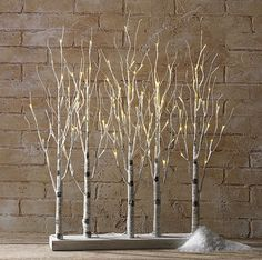 Check out the deal on RAZ Lighted Birch Tree Forest 30 Inch  - 88 Warm White LED'S at Battery Operated Candles