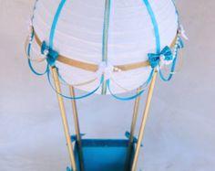 Hot Air Balloon Centerpiece // Hot Air Balloon by CraftedByYudi