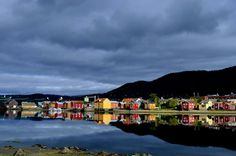 Mosjøen, Helgeland in Norway. The oldest town in Helgeland! It has an historical town center with beautifully preserved 19th. Century buildings. Photo: Jørgen J. Jensen
