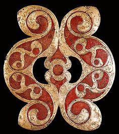 Anglo-saxon. I couldn't get the website to work, but it's still lovely!