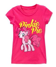 Take a look at this Hot Pink My Little Pony 'Pinkie Pie' Tee - Girls on zulily today!