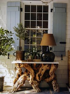 Driftwood furniture!