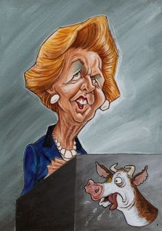 Margaret Thatcher - October 13, 1925 A definite Libra trait (iron fist/lady)